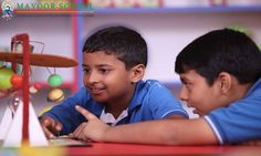 #Laboratories_in_Mayoor_School  The basic purpose of Science Labs is to prepare children for life by instilling in them an approach to analyse problems and find solutions on their own. In fact, Science Labs help in developing critical thinking bringing forth the 'Einstein' in every child.