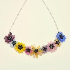 Tutorial Bead Jewelry PDF Pattern Flower Petal by 1beadweaver