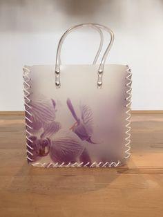 Shopper blaue Orchidee By : Easy Haushaltsprodukte