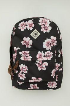 Floral backpack / Mochila Floral