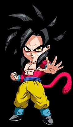 Chibi Goku SSJ4 ;]