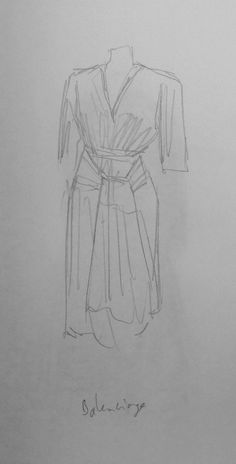 Robe, Balenciaga