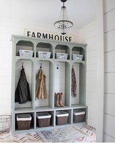 31 Genius Mudroom Ideas #diy #small #laundry #shelf #ideas #farmhouse #organization #lockers #bench #entryway #garage #modern #closet #storage