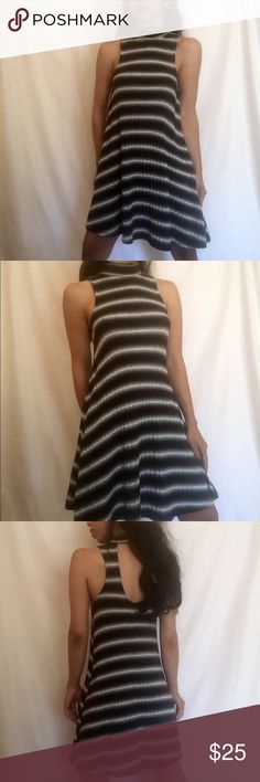 """Tie rib knit LF style hollow back mini dress @goguios in insta modeling (account manager) •no trades 🚫 •SHIPS TOMORROW💋  •NWT - brand: Timeless Look Boutique   ATT: BRAND added for exposure - reach and views- ask if you don't know what that means!   Selling last two available in our shop super stretchy and awesome fit  Material: rayon spandex mix  🎀visit """"Closet Rules"""" for more info - Timeless Look Men @timelesslookmen NOW OPEN more info in closet 💕 Boutique Dresses"""