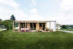 Mini Loft, Design Awards, Gazebo, House Plans, Outdoor Structures, Cabin, House Styles, Interior, Outdoor Decor