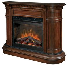Choose the Dimplex Ovation Carlyle Electric Fireplace Heater - Burnished Walnut for all of your home indoor heating needs. Decor, Traditional Fireplace, Hudson Furniture, Home Decor Trends, Fireplace Accessories, Indoor Fireplace, Fireplace Mantels, Home Decor Outlet, Fireplace