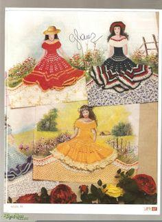 Patrones Crochet: Patrones Crochet Muñecas Postales