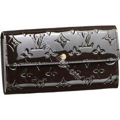 Louis Vuitton Monogram Vernis Sarah Wallet M91465