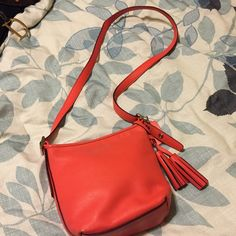 Coach purse Beautiful cross body purse only used once excellent condition. Will trade Coach Bags Crossbody Bags