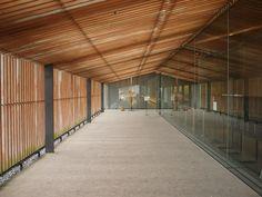 bato hiroshige museum of art by Kuma Kengo