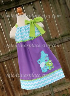 Beautiful and Exclusive Design Monster's Inc by Valentinasplace, $32.00