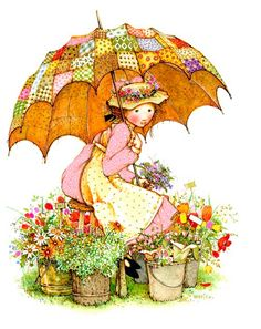Holly hobbie my favorite as a child :D