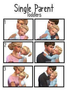 Single Parent Toddlers poses at j-e-n-n-e-h