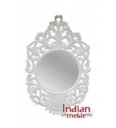 Szukasz czegoś co nada Twojemu mieszkaniu stylu? :) Indyjskie, wspaniele rzeźbione lustro doskonale spełni tę rolę! Do kupienia ➡ http://bit.ly/29Aww5m