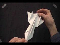 ▶ Paper SR-71 blackbird. - YouTube. My paper airplane flies faster and higher than your paper airplane. :-)