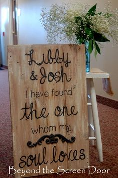 """I Have Found The One"" Wedding Scripture Art 