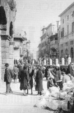 WWII in Italy - 25 aprile 1945 a Verona