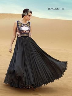 #VYOMINI - #FashionForTheBeautifulIndianGirl #MakeInIndia #OnlineShopping #Discounts #Women #Style #EthnicWear #OOTD #Gown Only Rs 3099/, get Rs 769/ #CashBack,  ☎+91-9810188757 / +91-9811438585