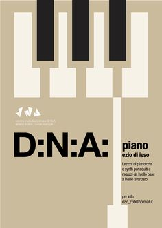 DNA Piano Lab 2014© on Behance