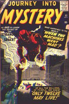 Journey Into Mystery # 53 by Jack Kirby & Christopher Rule