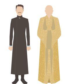 Nigel Dennis produz série de ilustrações dos personagens de Game of Thrones