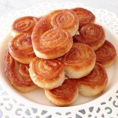 Palmeritas Express | Inutilisimas Sweet Recipes, Real Food Recipes, Snack Recipes, Yummy Food, Snacks, Argentina Food, Confort Food, Pastry And Bakery, Sweet Treats