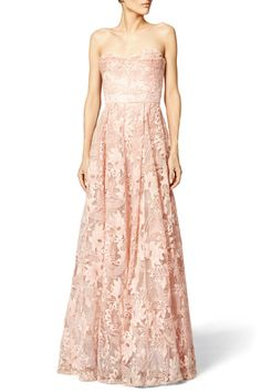 Marchesa Notte Eden gown: http://www.stylemepretty.com/2016/04/17/what-to-wear-to-any-wedding-this-spring/