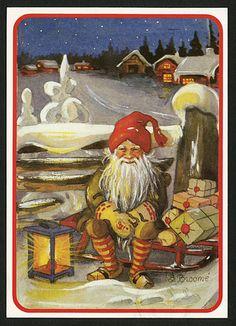 Julkort av Stina Broome