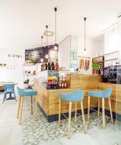 Bistro Toscana - stołki barowe LUBI