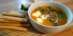 Creamy pumpkin and ginger soup I Finn's Foods