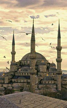 The Blue Masjid, Istanbul, Turkey