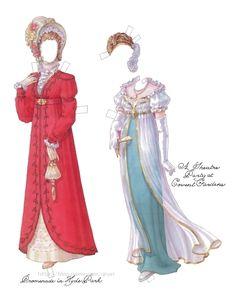 종이인형 (a regency lady of quality) : 네이버 블로그