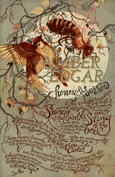 Honey & Sorrow by teagan white, via Behance