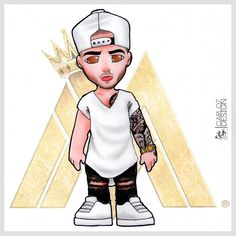 Maluma Trill Art, Cholo Style, Foto Top, Lil Pump, Dope Art, Anime Art Girl, Bad Boys, Hip Hop, Princess Zelda