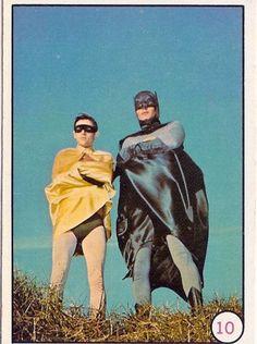 Batman (Adam West) and Robin (Burt Ward)
