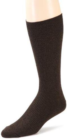Dockers Mens 3 Pack Pima Rib Socks $12.80