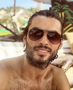 Nik Xhelilaj Hairy Men, Bearded Men, Round Sunglasses, Mens Sunglasses, Places To Visit, Actors, Sexy Guys, Amazing, Men Beard