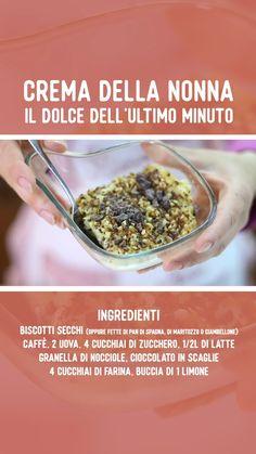 Italian Desserts, Italian Recipes, Biscotti, Fett, Food Videos, Tiramisu, Buffet, Oatmeal, Cheesecake