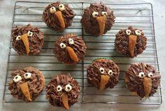 Kiwi bird cupcakes Bird Birthday Parties, 3rd Birthday, Birthday Ideas, Funny Food, Food Humor, Kiwi Cake, New Zealand Food, Kiwi Bird, Bird Party
