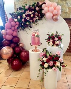 There is something about balloons and flowers that makes the decor event more magnificent! Birthday Balloon Decorations, Baby Shower Decorations, Wedding Decorations, Table Decorations, Balloon Garland, Balloons, Event Decor, Party Themes, Birthday Parties
