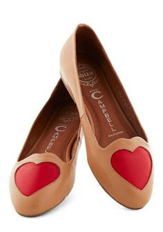 Heart to Miss Flat, #ModCloth