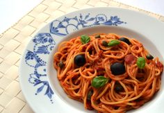 Easy Puttanesca: Spicy tuna and tomato pasta - Healthy, Tasty & Easy Recipes on a Budget - Gourmet Mum