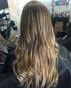 Blonde balayage Ombré by The Room