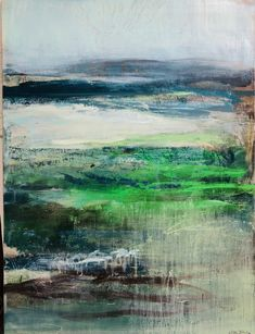 Abstract Art, Mountains, Green, Nature, Painting, Travel, Beautiful, Book, Viajes
