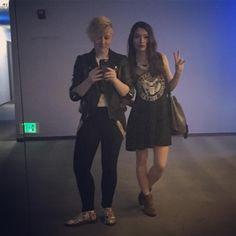 Kaitlyn Alexander and Natasha Negovanlis Carmilla Series, Elise Bauman, Chyler Leigh, Katie Mcgrath, Film Base, Canadian Actresses, Pitch Perfect, Bioshock, Celebs