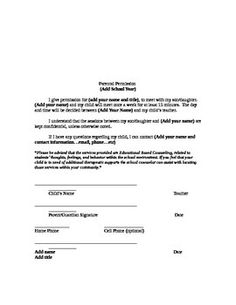 Small Group ParentGuardian Permission Slip  Small Groups