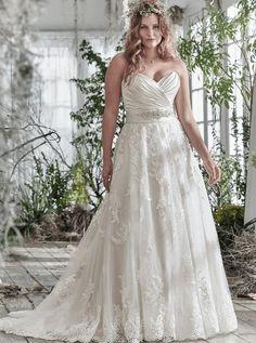 dee8d8e02cb3 Plus Size Bridal · Romantic LaceWedding Dresses ...