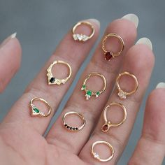 Septum rings #fineJewelry