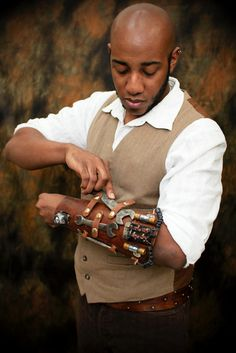 Airship Engineers tool bracer by GotSteam on Etsy, $200.00