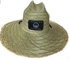 aa52657b458c8 TOPWATER CULTURE OAHU STRAW LIFEGUARD HAT
